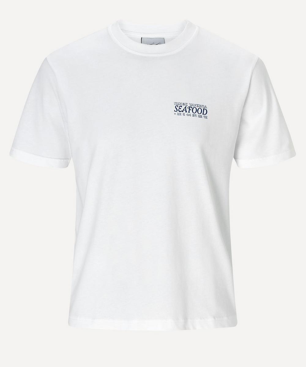 Carne Bollente - White Fresh Fish French Kiss T-Shirt