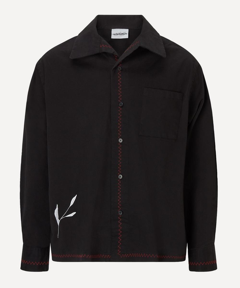 Carne Bollente - Taramiche Embroidered Back Overshirt