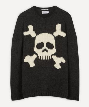 Skull Virgin Wool-Blend Knit Jumper