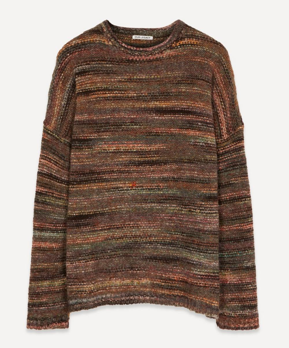 Our Legacy - Smudge Fair Isle Wool-Blend Knit