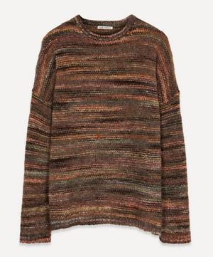 Smudge Fair Isle Wool-Blend Knit