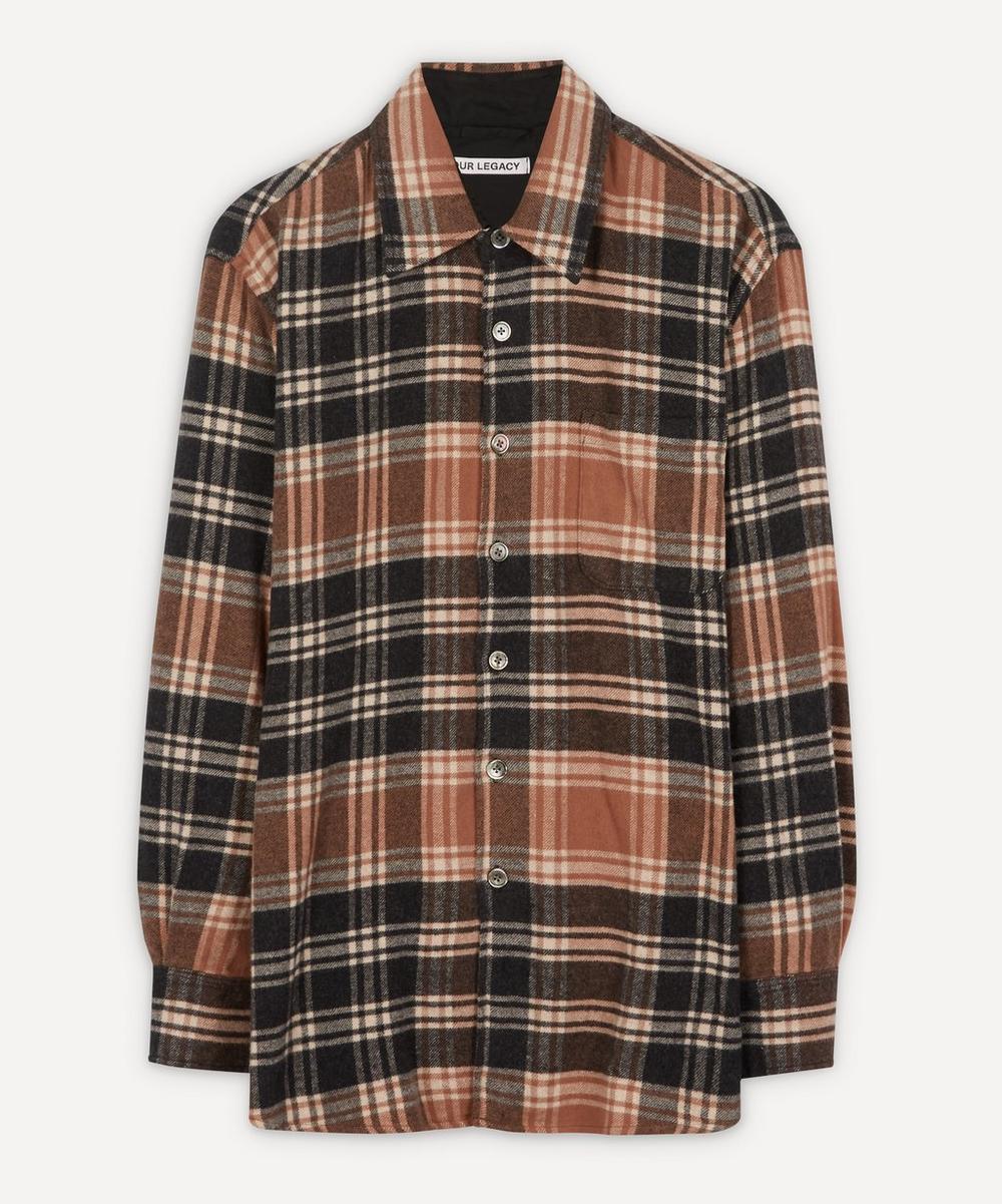 Our Legacy - Above Plaid Cotton Shirt