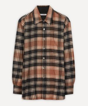 Above Plaid Cotton Shirt