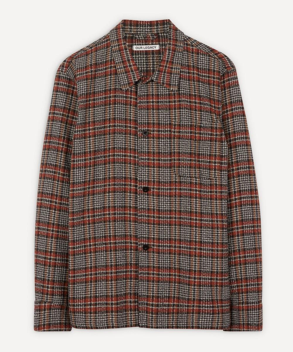 Our Legacy - Oversized Rustic Check Overshirt