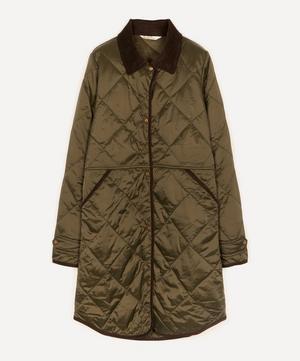 Peppergrass Lightweight Quilted Coat
