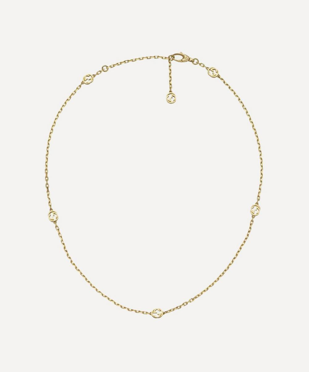 Gucci - Gold Interlocking G Necklace image number 0