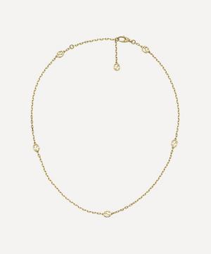 Gold Interlocking G Necklace