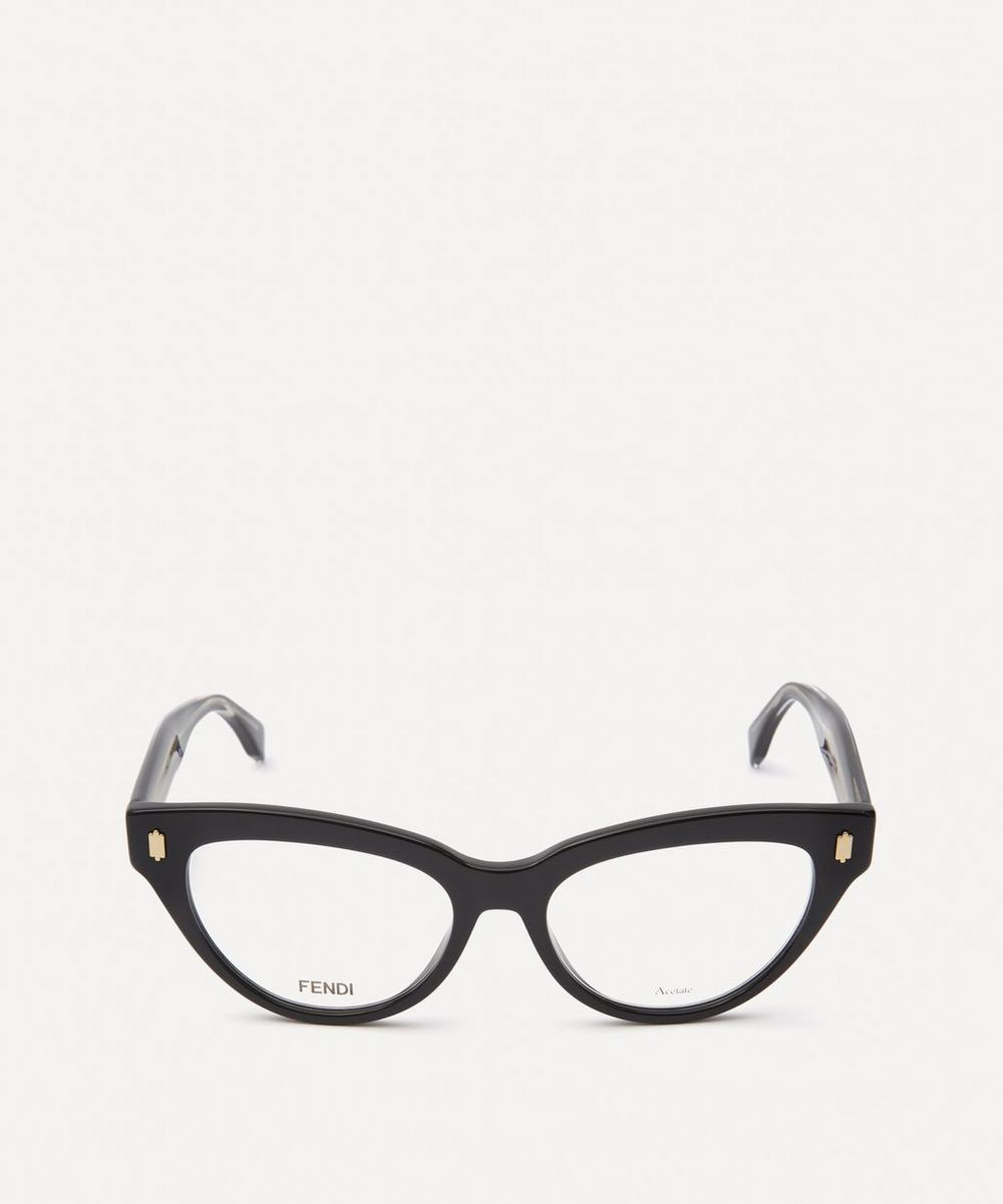 Fendi - Cat Eye Acetate Optical Glasses