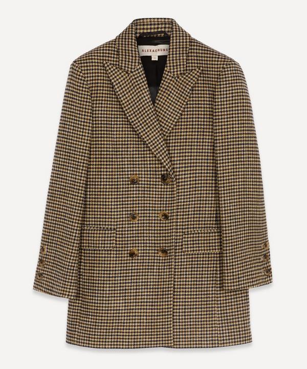 ALEXACHUNG - Jerry Oversized Double-Breasted Jacket