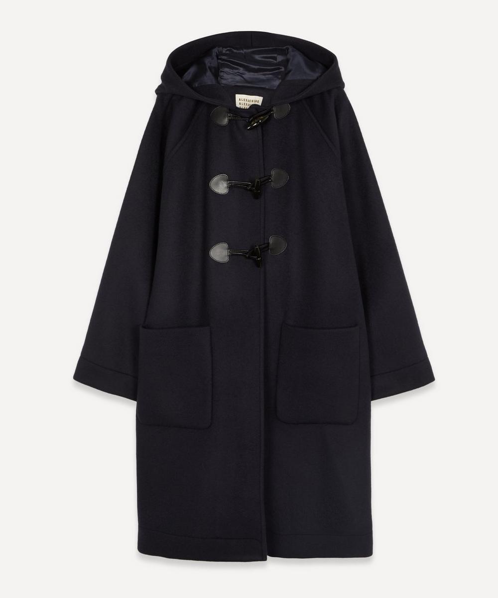 ALEXACHUNG - Raglan Duffle Coat