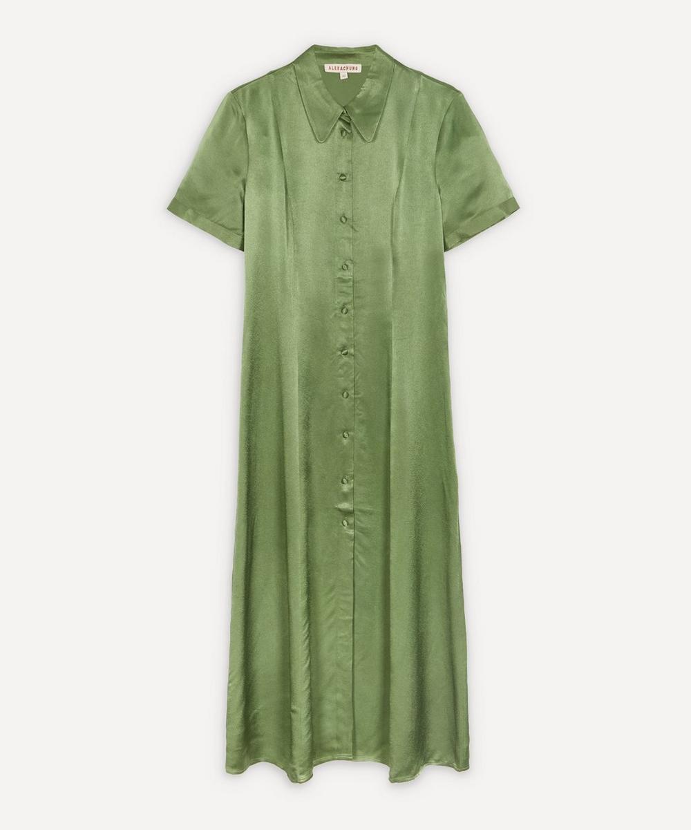 ALEXACHUNG - Button-Down Shirt-Dress