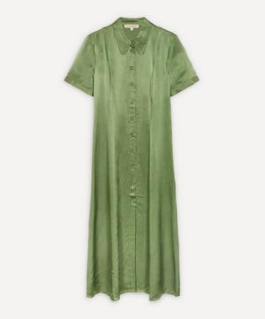 Button-Down Shirt-Dress