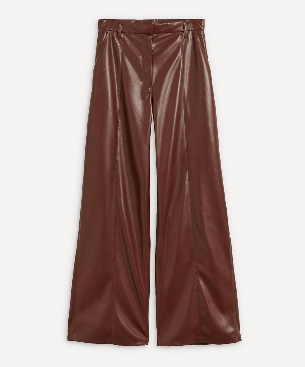 Nanushka - Cleo Wide-Leg Vegan Leather Trousers