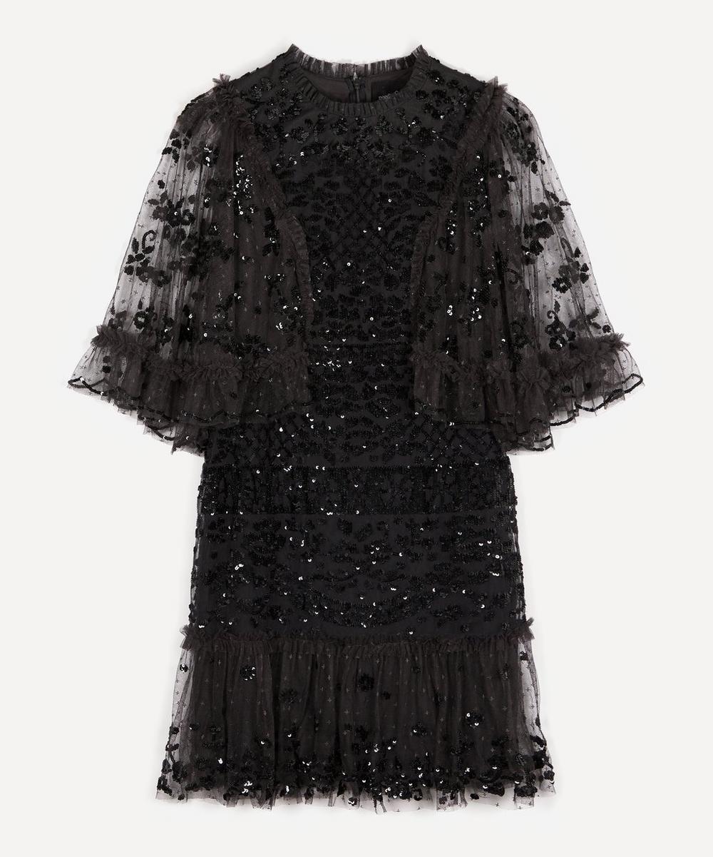 Needle & Thread - Melody Sequin Mini-Dress