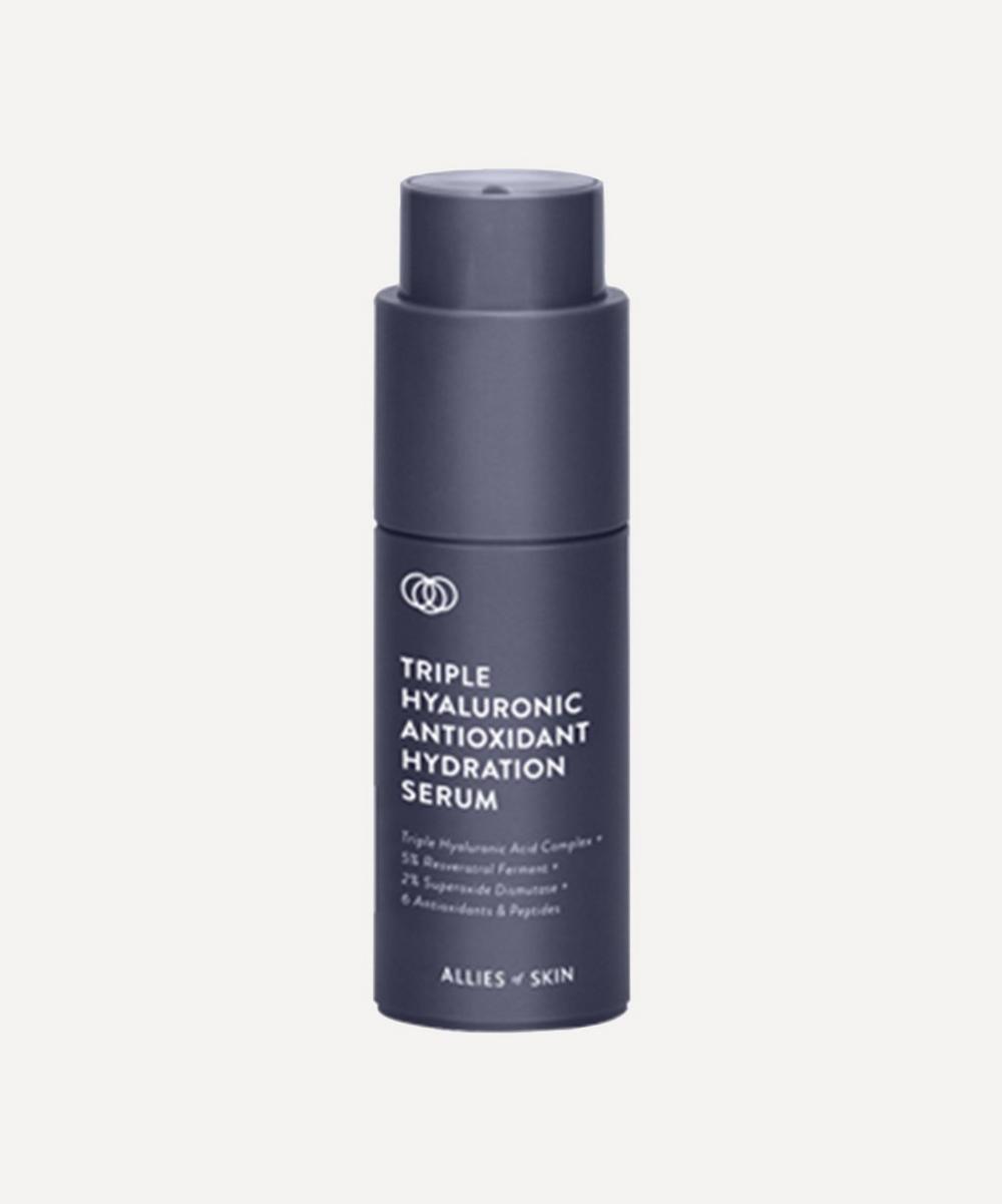 Allies of Skin - Triple Hyaluronic Antioxidant Hydration Serum 30ml