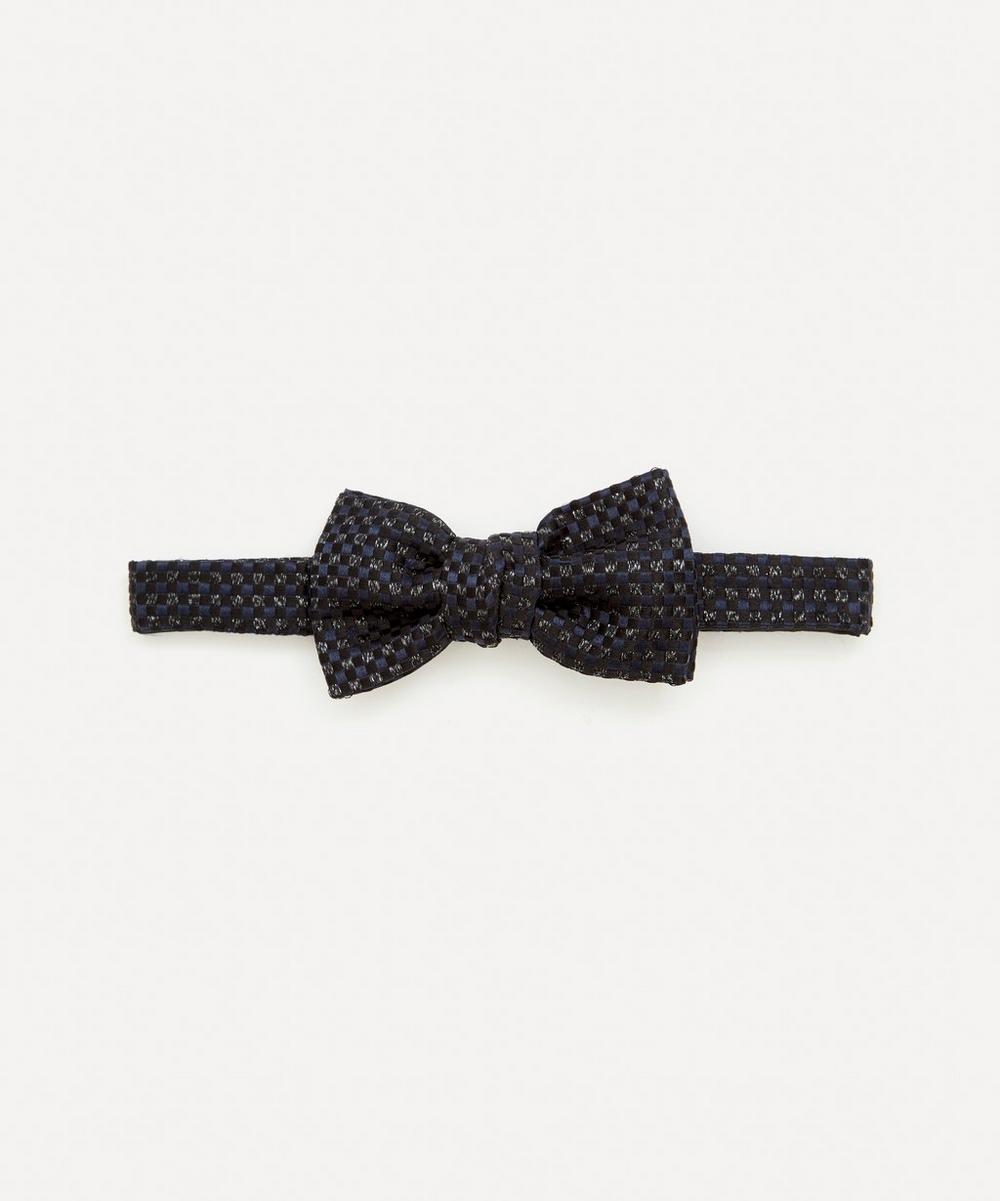 Lanvin - Metallic Jacquard Bow Tie