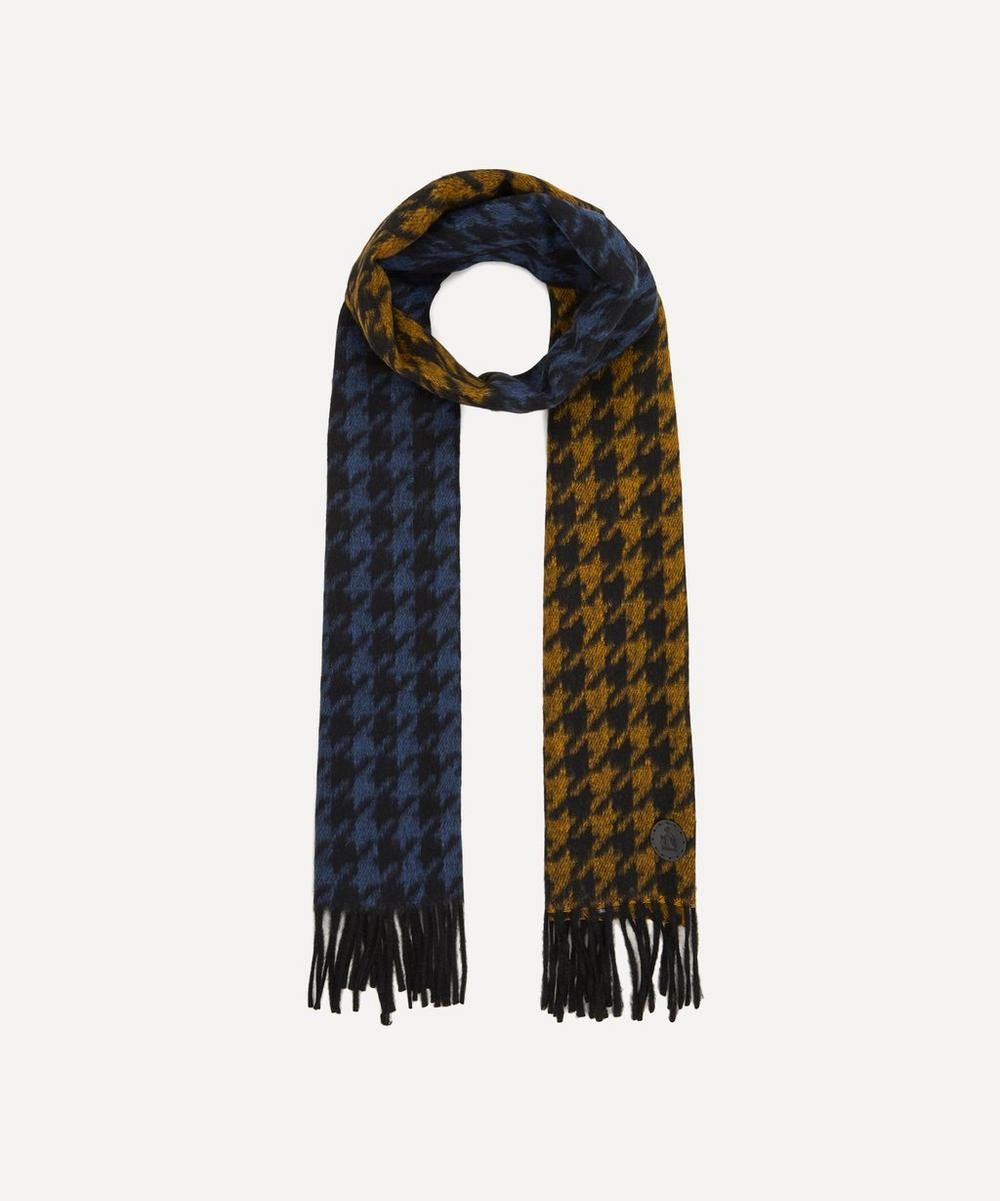 Lanvin - Houndstooth Cashmere Scarf