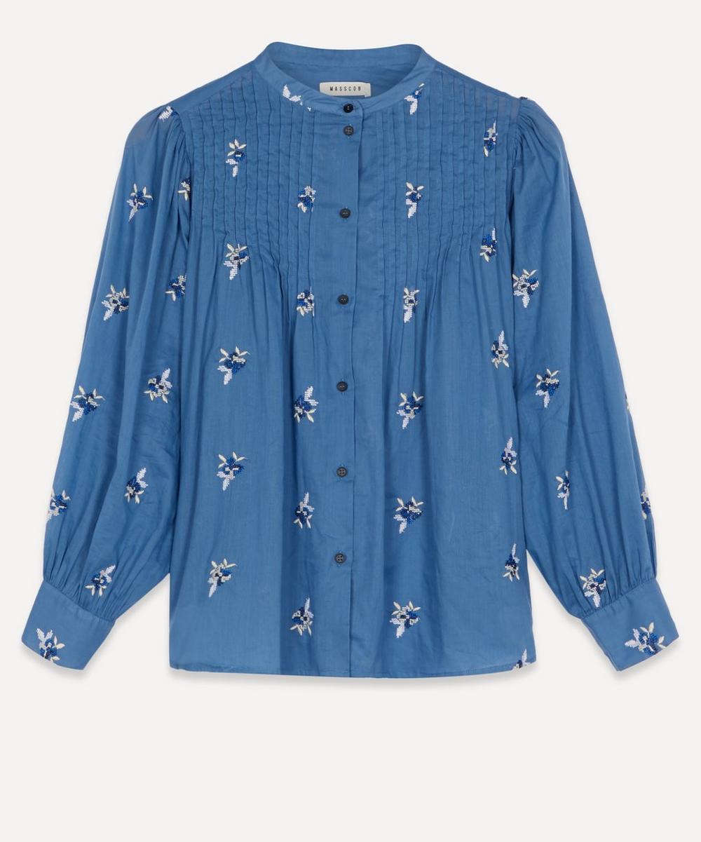 Masscob - Kalinda Embroidered Cotton Shirt