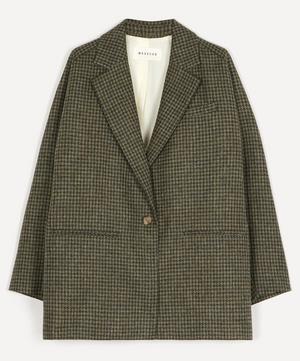 Harold Single-Breasted Wool Blazer