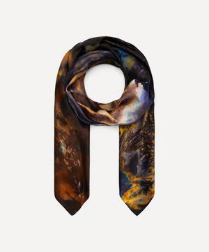 Opal Print Silk Scarf