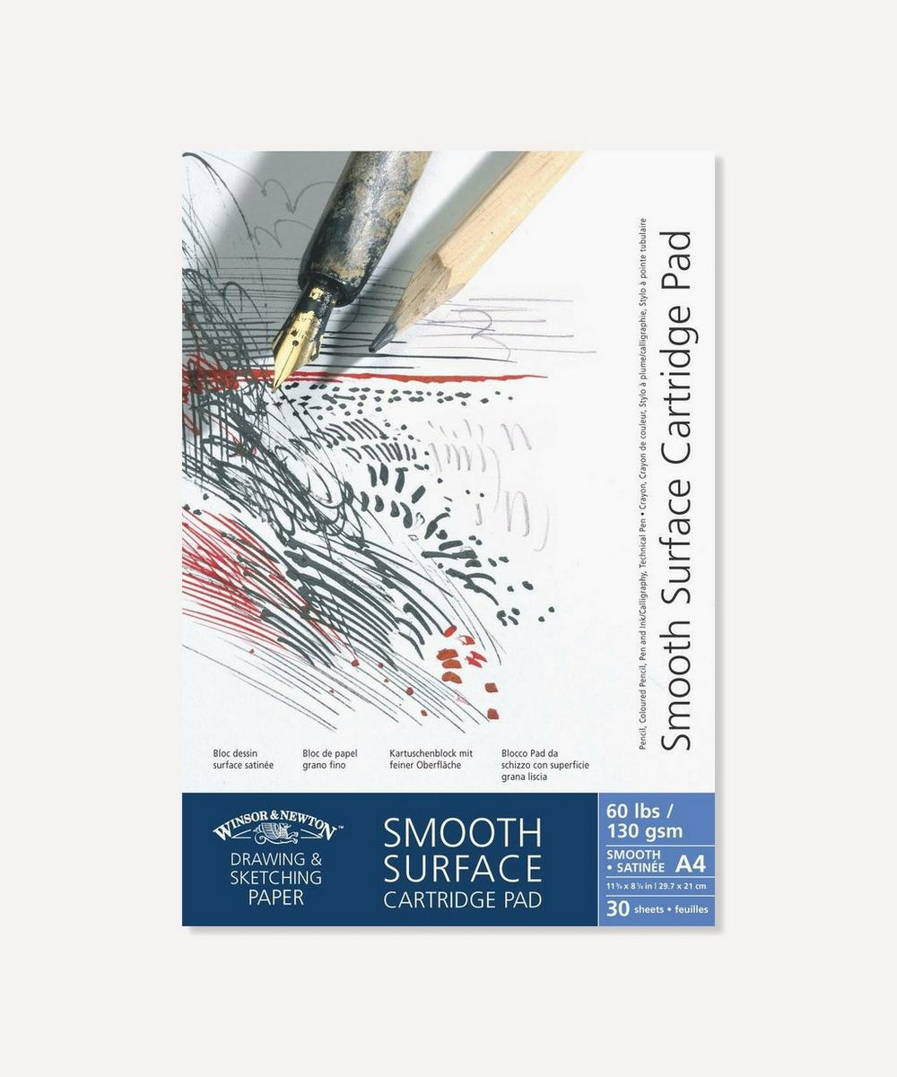 Winsor & Newton - A4 Smooth Surface Cartridge 130gsm Pad