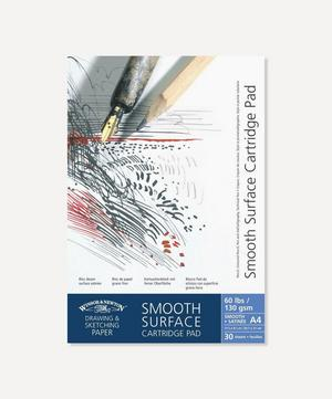 A4 Smooth Surface Cartridge 130gsm Pad