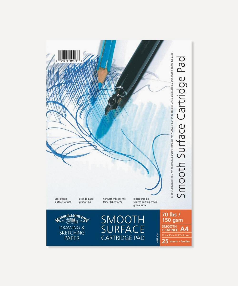 Winsor & Newton - A4 Smooth Surface Cartridge 150gsm Pad