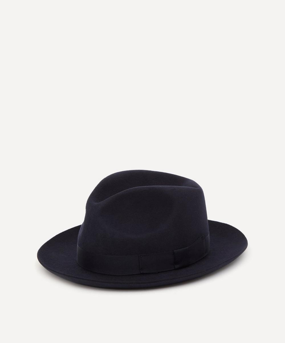 Christys' - Chepstow Wool Felt Fedora Hat