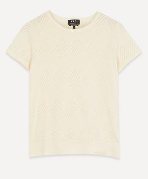 Lucy Openwork T-Shirt