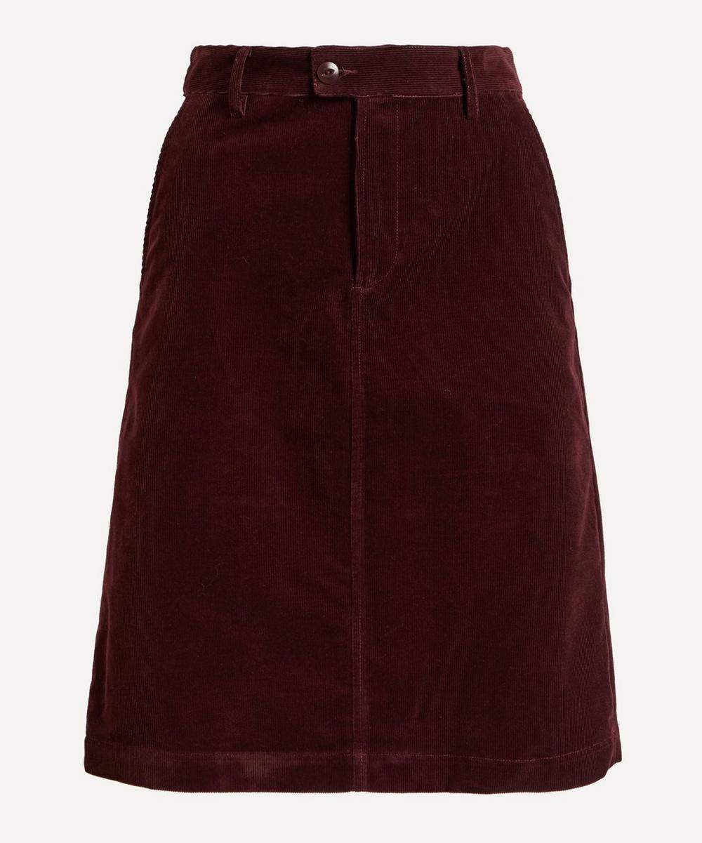 A.P.C. - Carry Corduroy Knee-Length Skirt