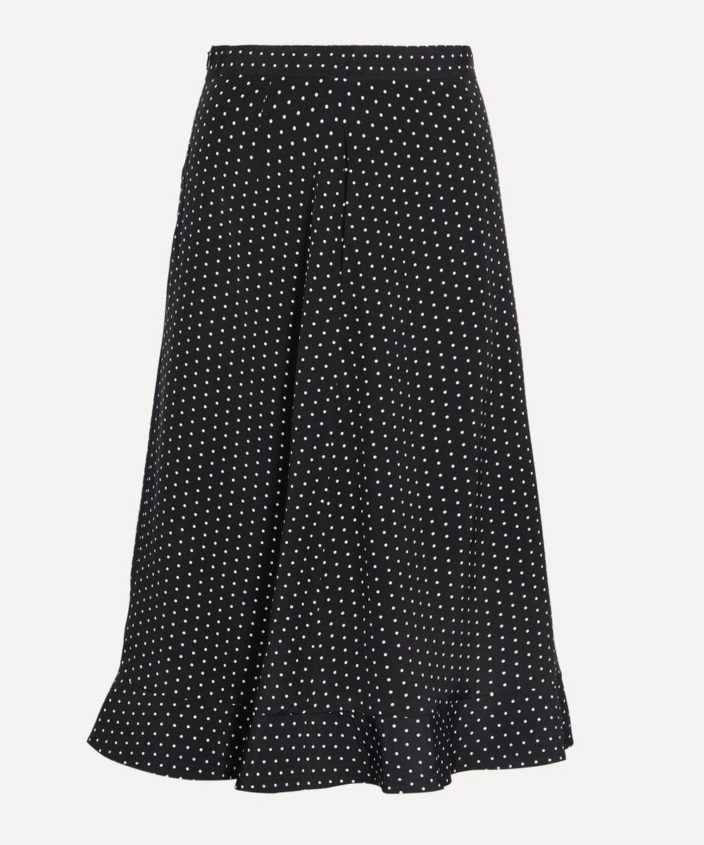 A.P.C. - Adena Polka-Dot Skirt