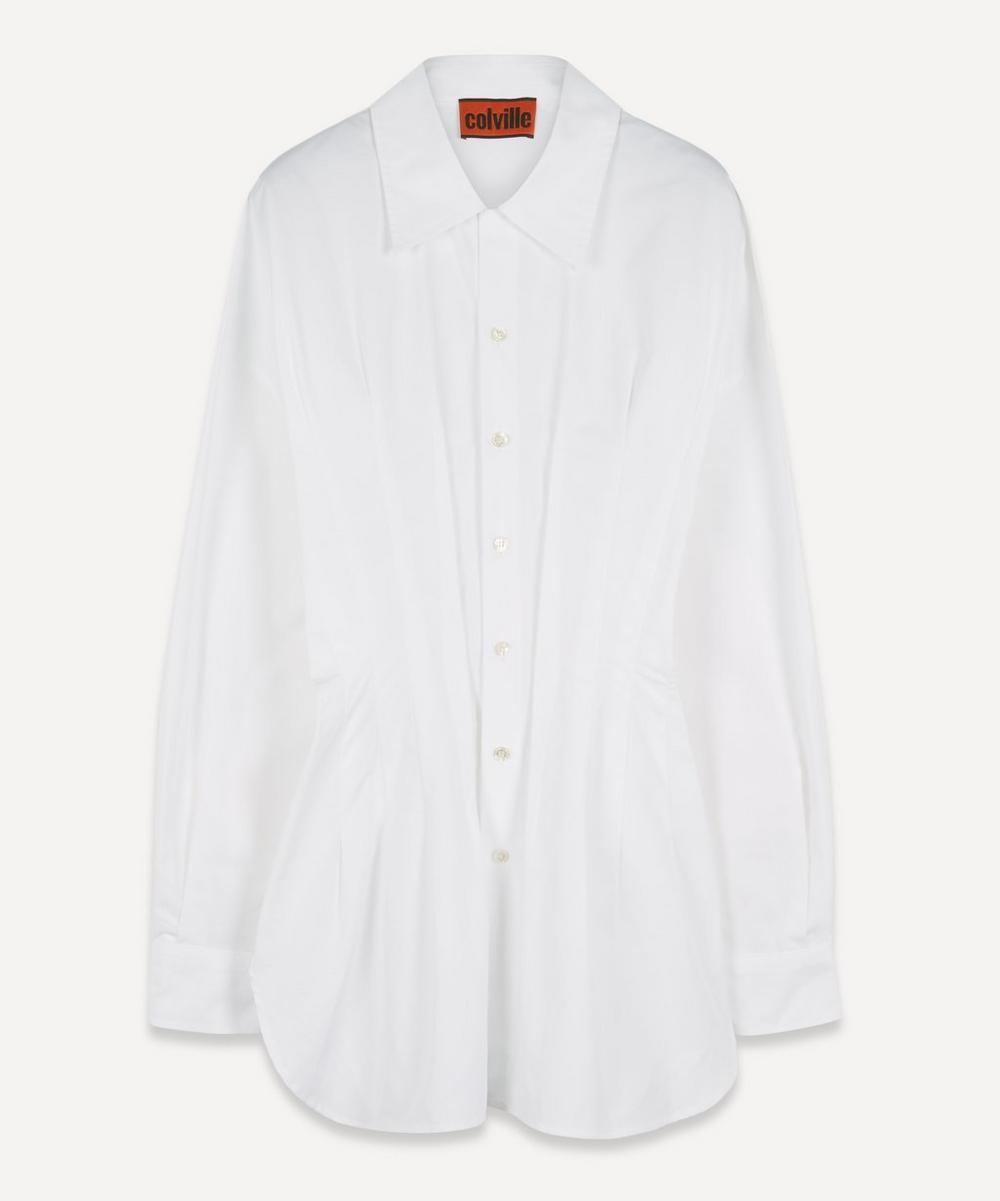 Colville - Pintuck Cotton Shirt