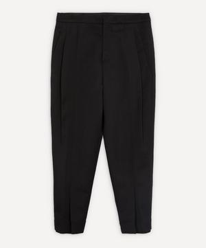 Tapered Pleat Front Trousers