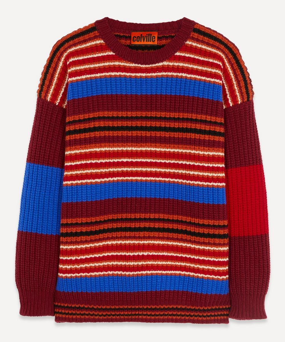 Colville - Multicolour Stripe Knit Jumper