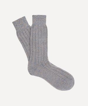 Ampato Ribbed Marl Alpaca-Blend Socks