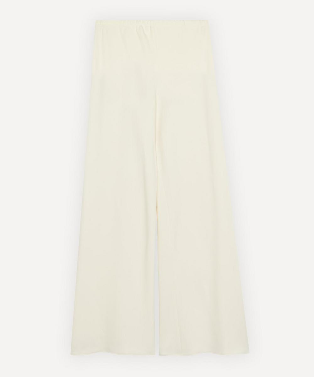 The Row - Gala Stretch Cady Trousers