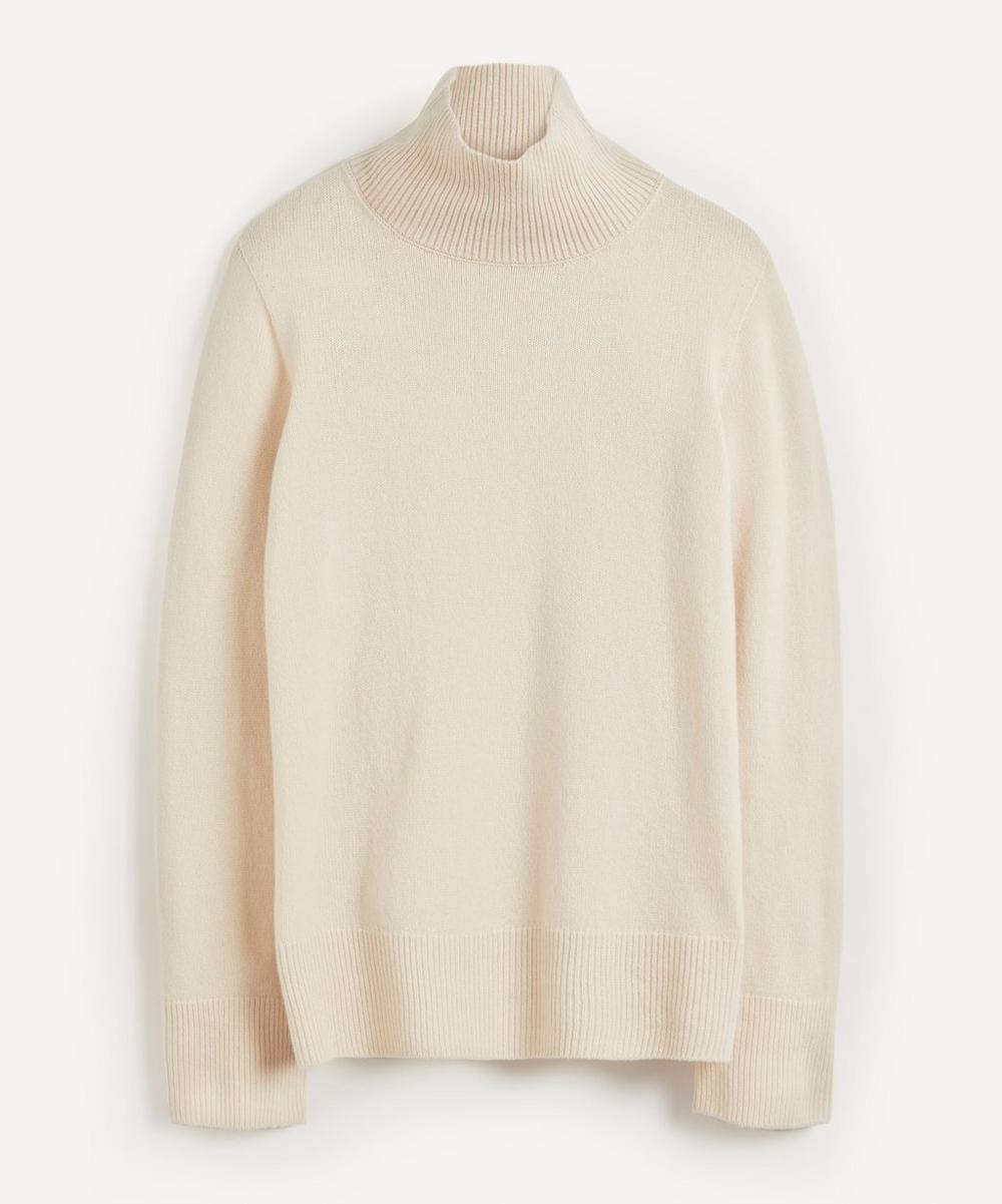 The Row - Milina Wool-Cashmere High-Neck Knit Jumper