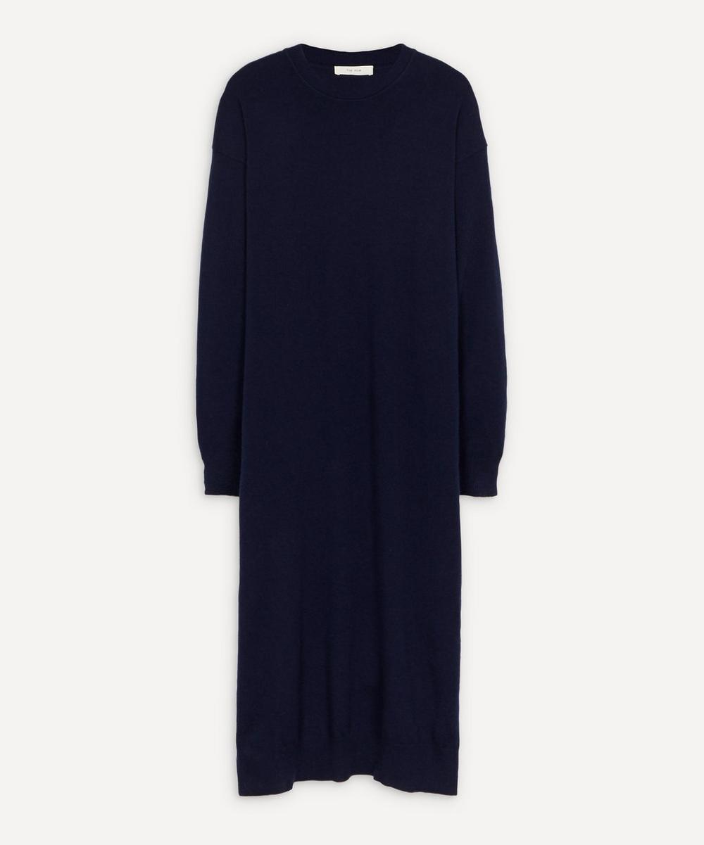 The Row - Anibal Knitted Cashmere Midi-Dress