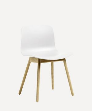 Soaped Solid Oak Chair