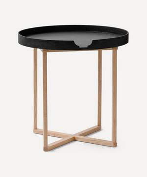 Damien Black Side Table