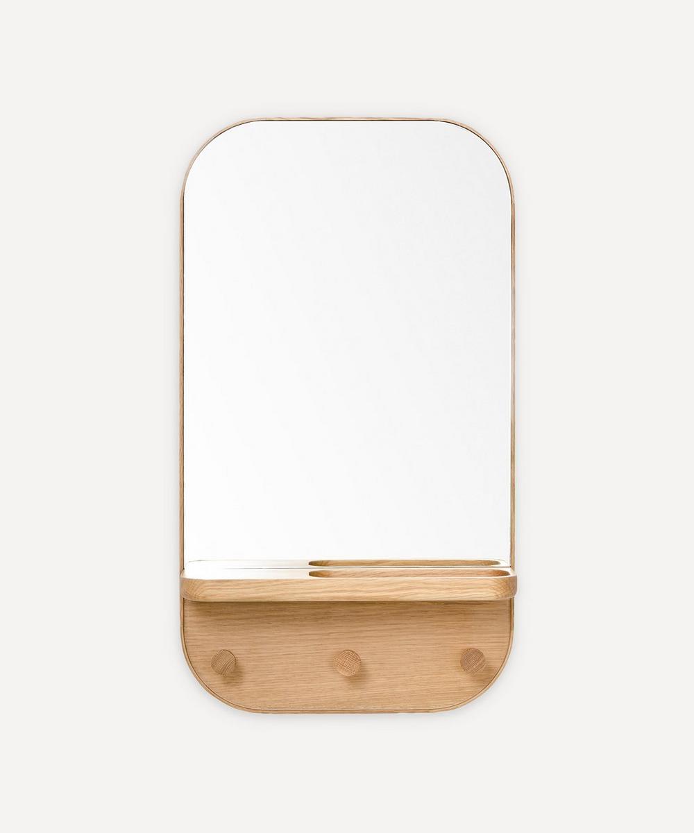 Wireworks - Silent Butler Storage Mirror