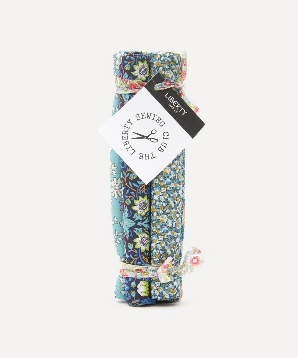 Liberty Fabrics - Green Tana Lawn™ Cotton Fabric Bundle One Metre