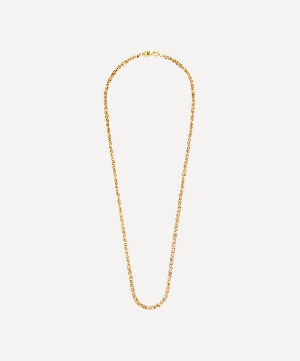 Susan Caplan Vintage - Gold-Plated 1980s Givenchy Long Chain Necklace