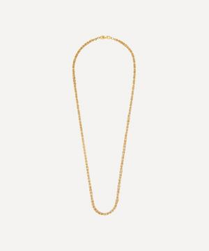 Gold-Plated 1980s Givenchy Long Chain Necklace