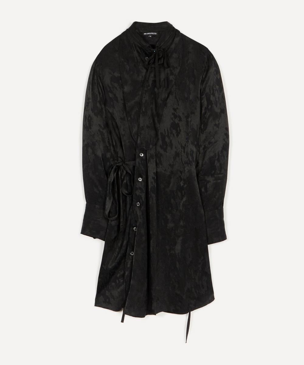 Ann Demeulemeester - Textured Jacquard Midi-Dress