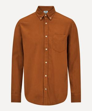 Levon Flannel Twill Cotton Shirt