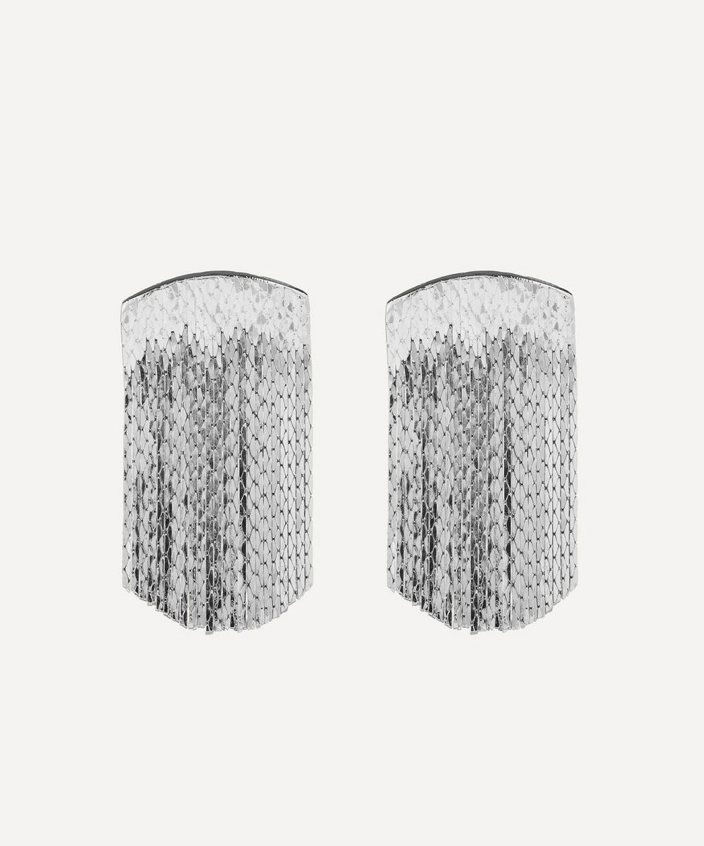 Anissa Kermiche - Silver-Plated Fil d'Argent Drop Earrings