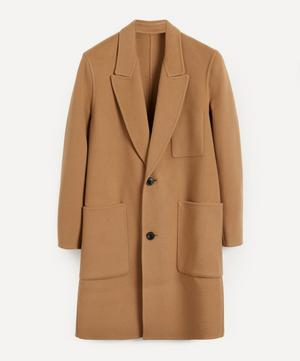 Unstructured Double Face Wool-Cashmere Coat