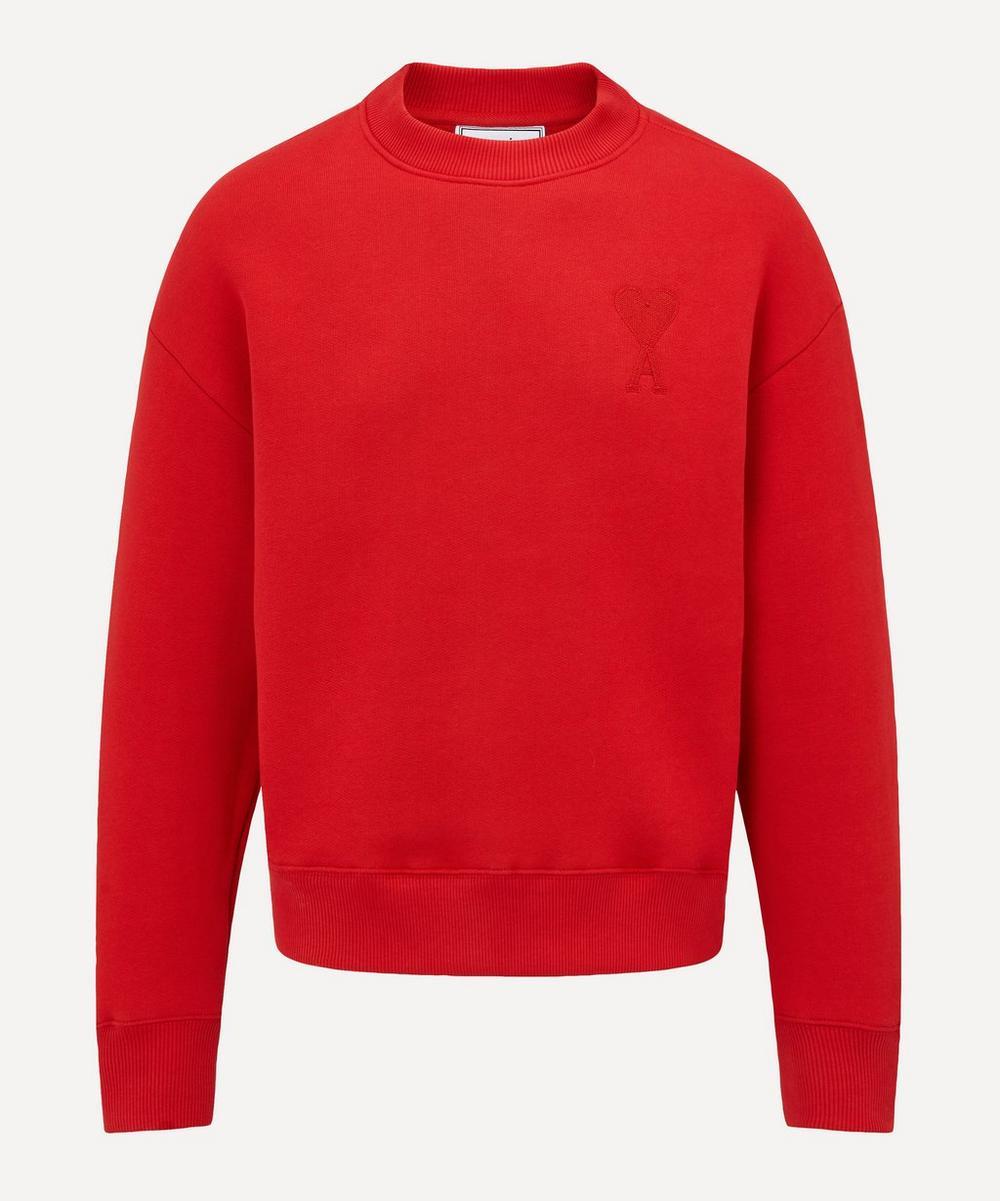 Ami - Tonal Ami de Cœur Logo Sweatshirt