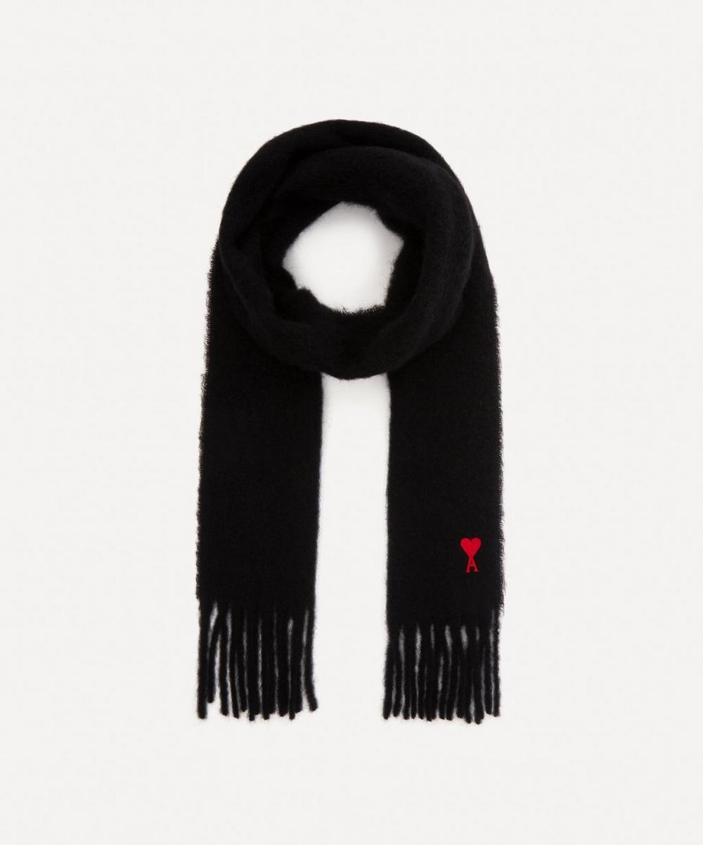 Ami - Ami de Coeur Wool-Blend Scarf